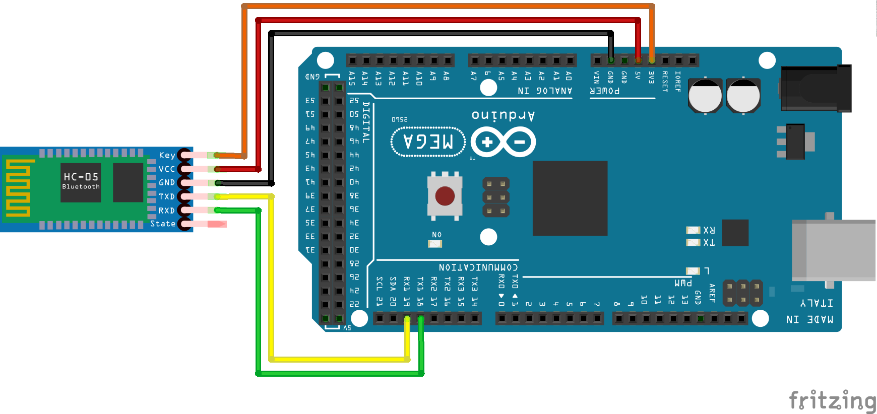 Serial at commands con arduino blascarr